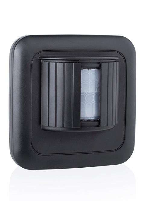 Smartwares Akıllı Ev Dış Mekan Kablosuz Pilli Hareket Sensörü Siyah-Sinyal İletici Renkli